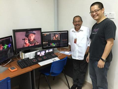 Aswara University Colour Grading Project 2015