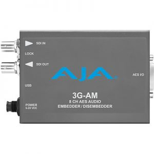 3G-AM 8-Channel AES Embedder/Disembedder
