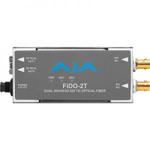 FiDO-2T-X 2-Channel 3G-SDI to Single-Mode LC Fiber Transmitter