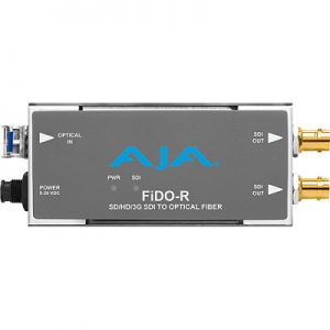 FiDO-R 1-Channel Single-Mode LC Fiber to 3G-SDI Receiver