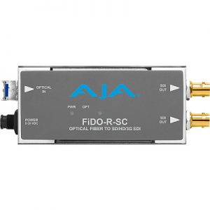 FiDO-R-SC 1-Channel Single-Mode SC Fiber to 3G-SDI Receiver