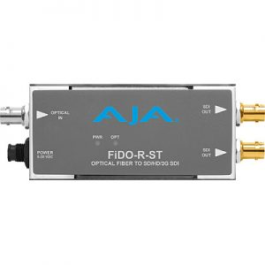 FiDO-R-ST 1-Channel Single-Mode ST Fiber to 3G-SDI Receiver