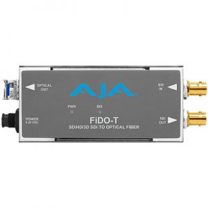 FiDO-T 1-Channel 3G-SDI to Single-Mode LC Fiber Transmitter
