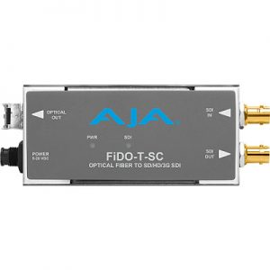 FiDO-T-SC 1-Channel 3G-SDI to Single-Mode SC Fiber Transmitter