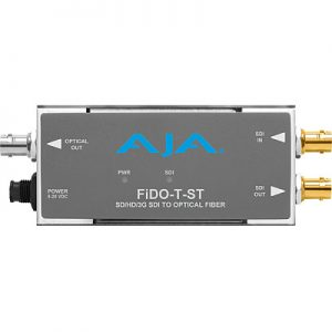 FiDO-T-ST 1-Channel 3G-SDI to Single-Mode ST Fiber Transmitter