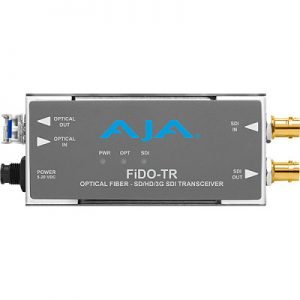 FiDO-TR 1-Channel 3G-SDI/LC Single-Mode LC Fiber Transceiver