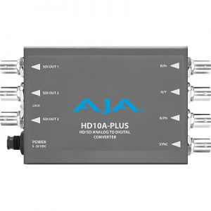 HD10A-Plus HD Analog to HD-SDI Converter